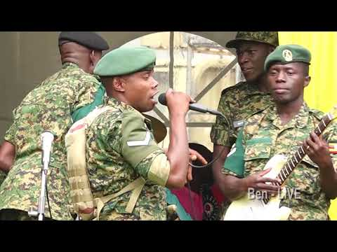 UPDF sings for Peace in Uganda