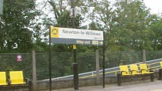 Newton le Willows 9.9.2015 - train ride through the town - Earlestown Vulcan Foundry Parkside