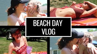 BEACH DAY VLOG | LGBT