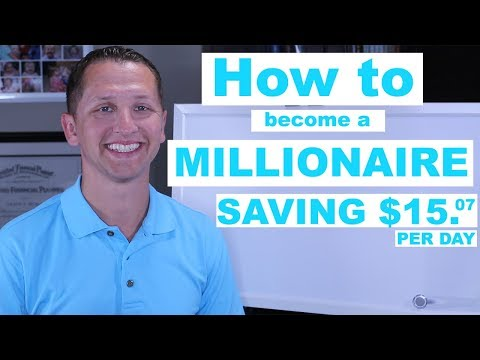 "<span class=""title"">How to become a Millionaire Saving $15.07 per day</span>"