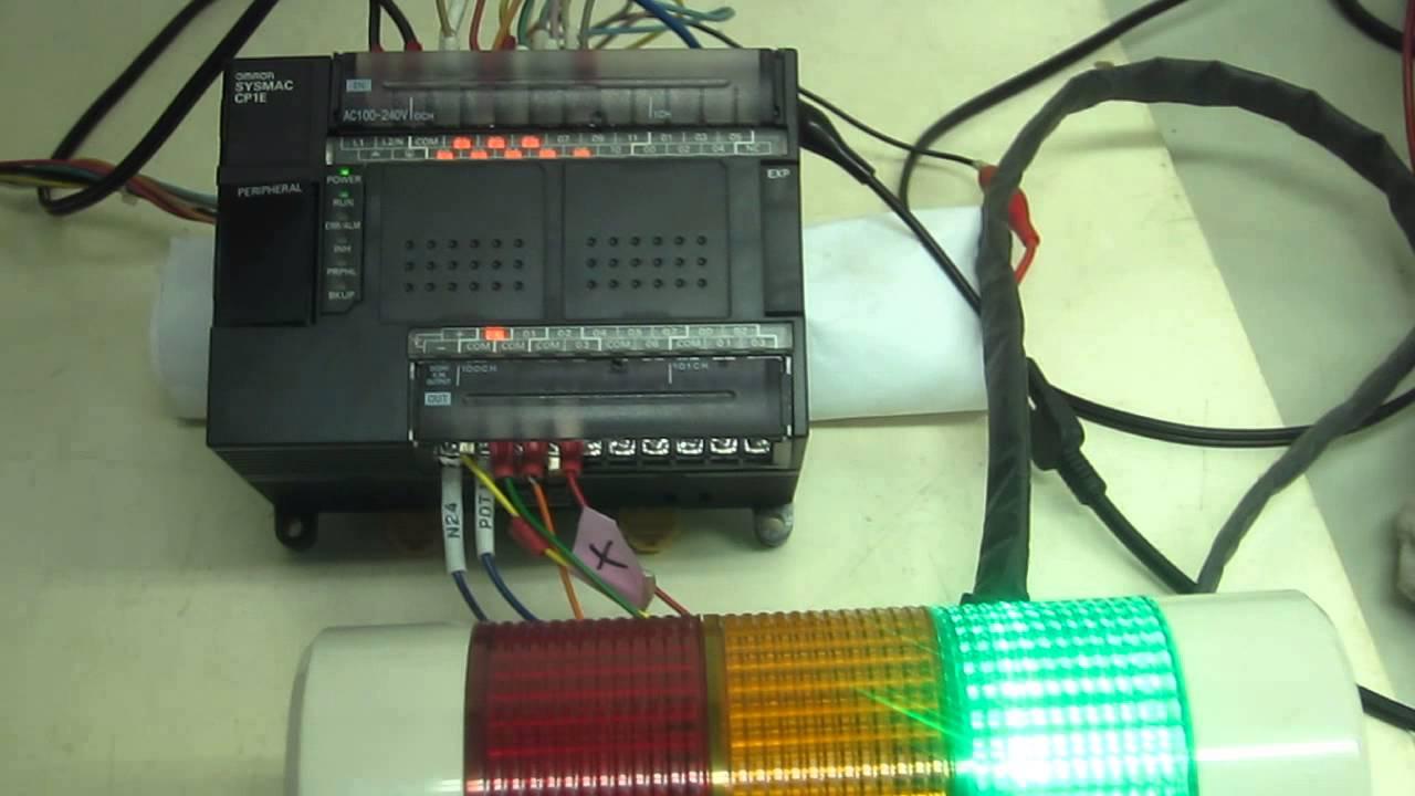 Omron cp1e e30dr a programmable controller cp series cpu unit