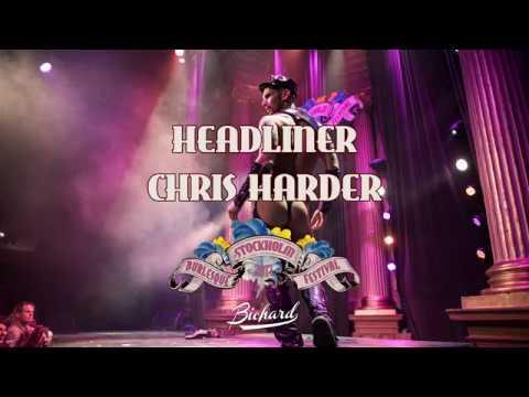 Chris Harder - Headliner - 7th International Stockholm Burlesque Festival