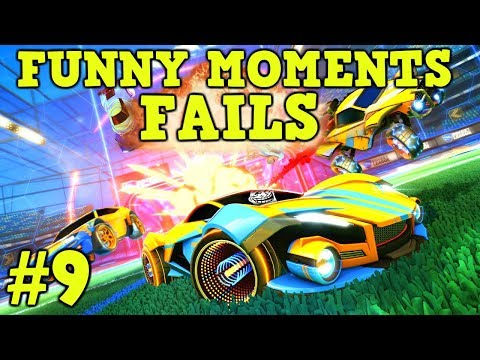 ROCKET LEAGUE FAILS & Funny Moments #9! (Funny Gameplay Compilation) thumbnail