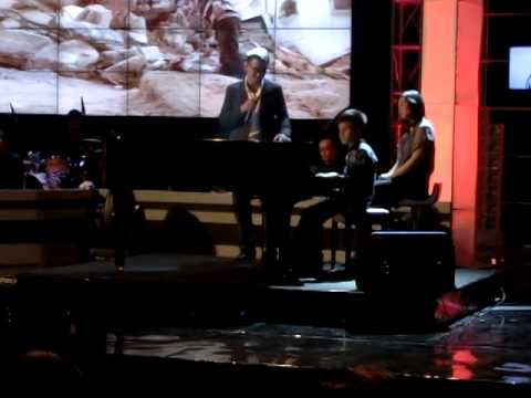 "Joe Taslim & Michael Anthony performing ""Imagine"" (John Lennon)"