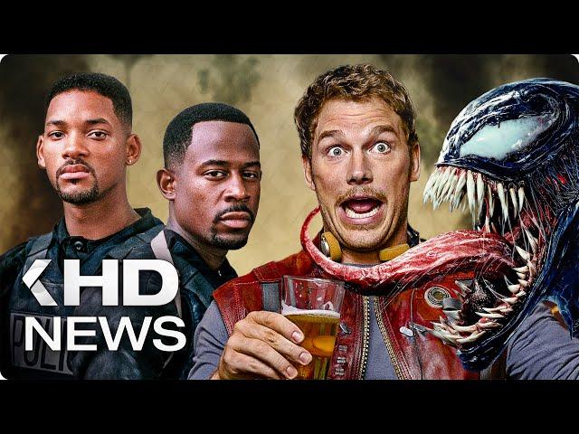 Venom 2, Batman Film, Guardians of the Galaxy 3, Bad Boys 3… KinoCheck News