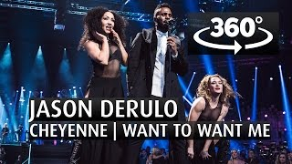 JASON DERULO - CHEYENNE | WANT TO WANT ME - 360 Angle - The 2015 Nobel Peace Prize Concert