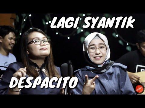 Lagi Syantik Medley Despacito - Prisha Feat. Dilla (Cover)