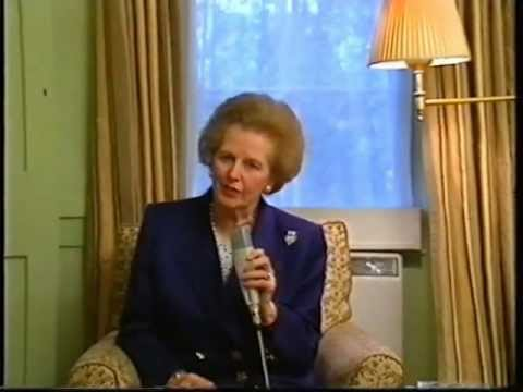 Thatcher Urges International Recognition Of Slovenia And Croatia