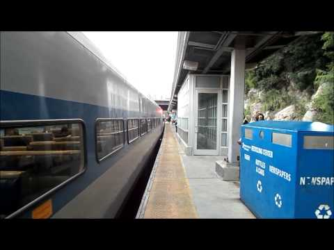 Metro-North Railroad HD: Three Trains at Marble Hill Station on the Hudson Line 7/26/14