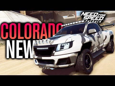 NEW Chevy Colorado ZR2 CUSTOMIZATION | Need for Speed Payback