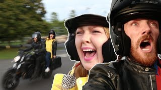 Irish People Try Riding Motorbikes For The First Time