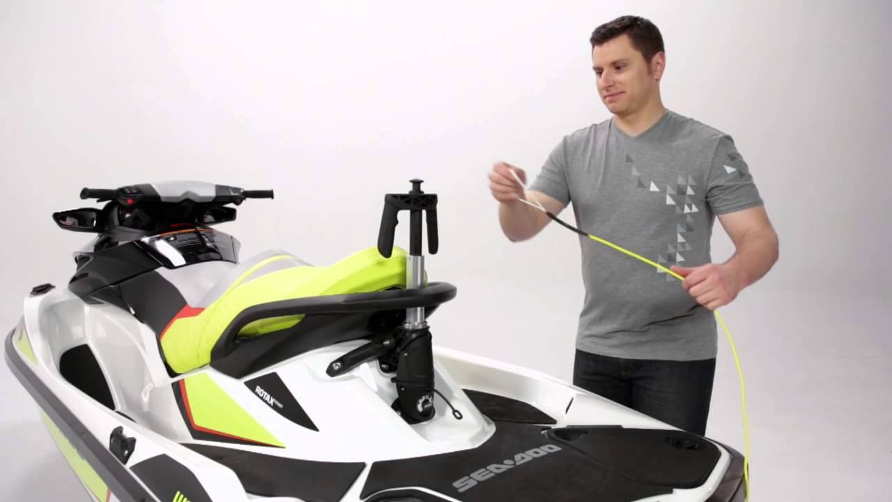 Sea Doo Retractable Ski Pylon Youtube