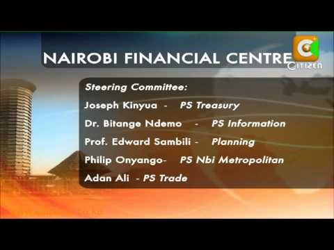 Creating Nairobi as Financial Hub