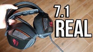 Auriculares 7.1 REAL ¿valen la pena? | Asus ROG Centurion cascos gaming 2018 review