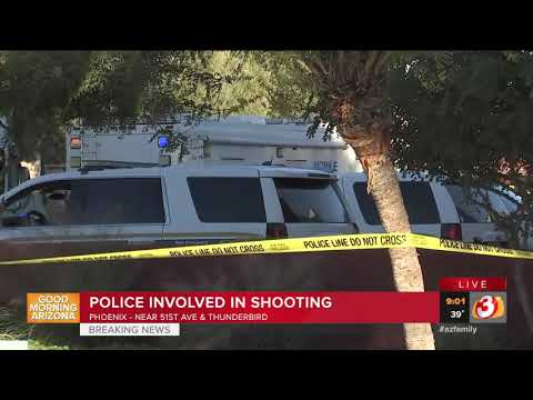 VIDEO: Police investigating officer-involved shooting in Phoenix