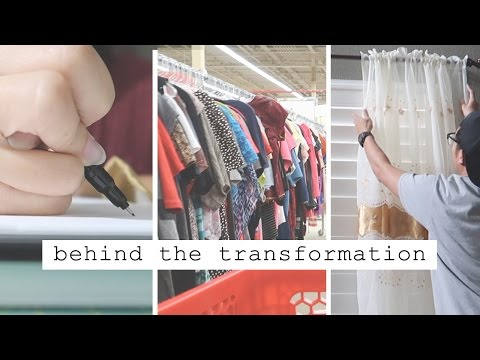 Behind The Transformation | Thrifting, Design, Photoshoot!