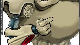 Рисуем робота часть 5