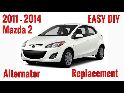 EASY DIY: 2011 – 2014 Mazda 2 alternator Removal And Replacement