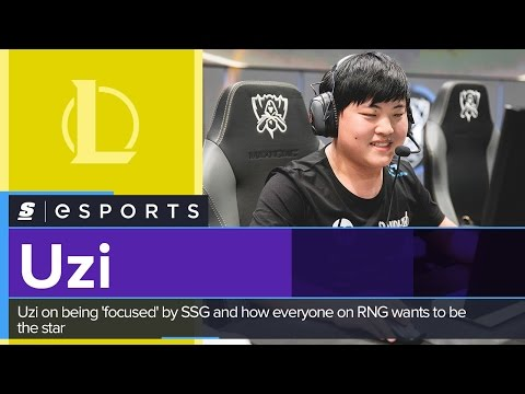 Uzi on being 'focused' by SSG and how everyone on RNG wants to be the star