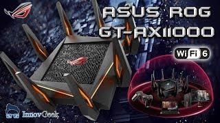 Déballage et présentation du routeur ASUS ROG GT-AX11000 WIFI-6