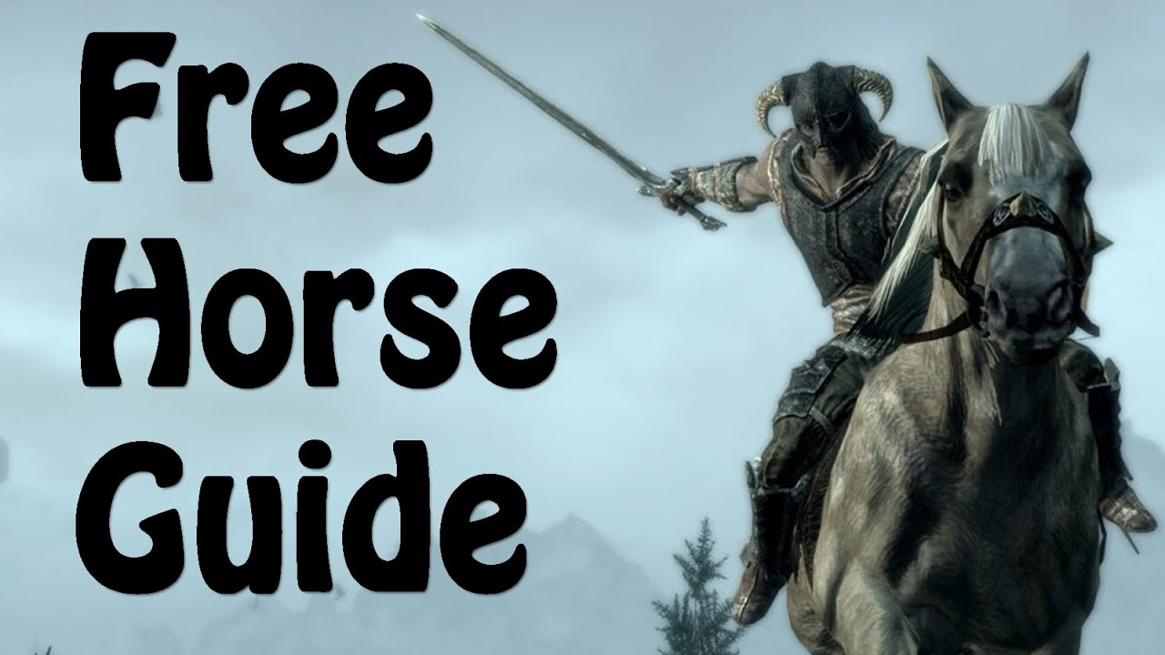Skyrim : How to get a Free Horse Early