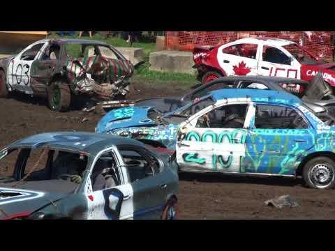 Forest Fair Demolition Derby 2017 | 6 Cylinder