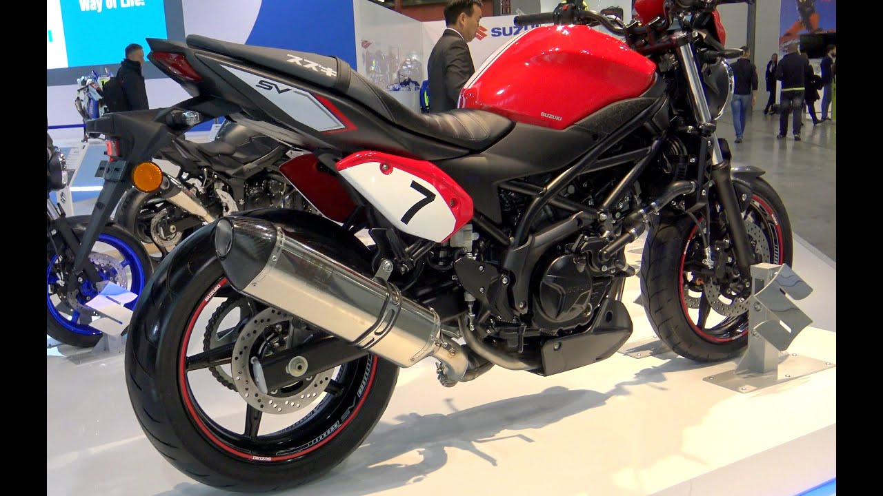 eicma suzuki sv 650 abs video best 4k youtube. Black Bedroom Furniture Sets. Home Design Ideas