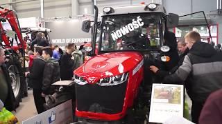 W kabinie ciągnika Massey Ferguson WF3709