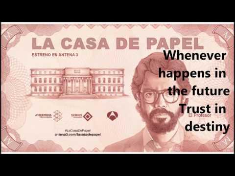La casa de papel - Mi life is going on - Letra