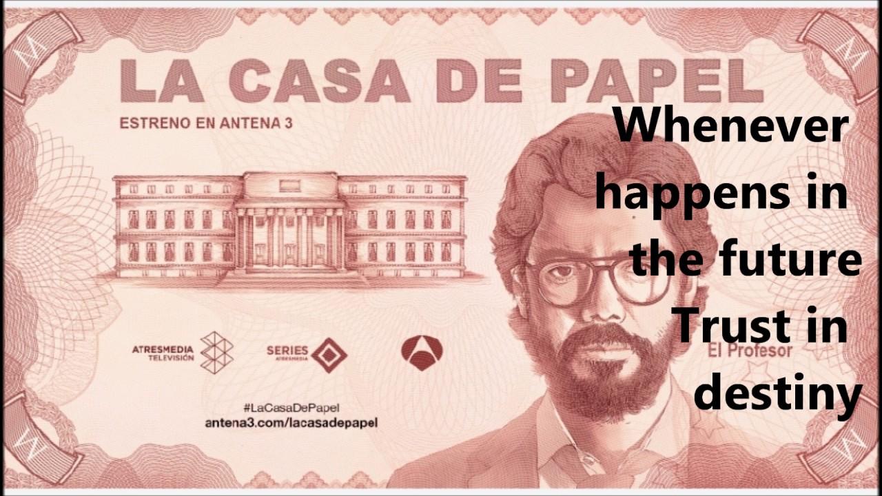 La casa de papel mi life is going on letra lyrics - La casa de mi tresillo ...