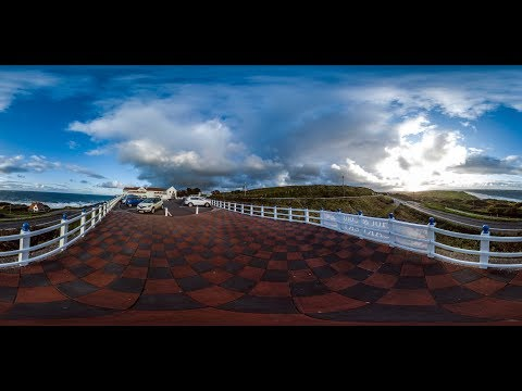 Cloud Time Lapse Over Royal Marine Court Hotel, Portrush (3D)