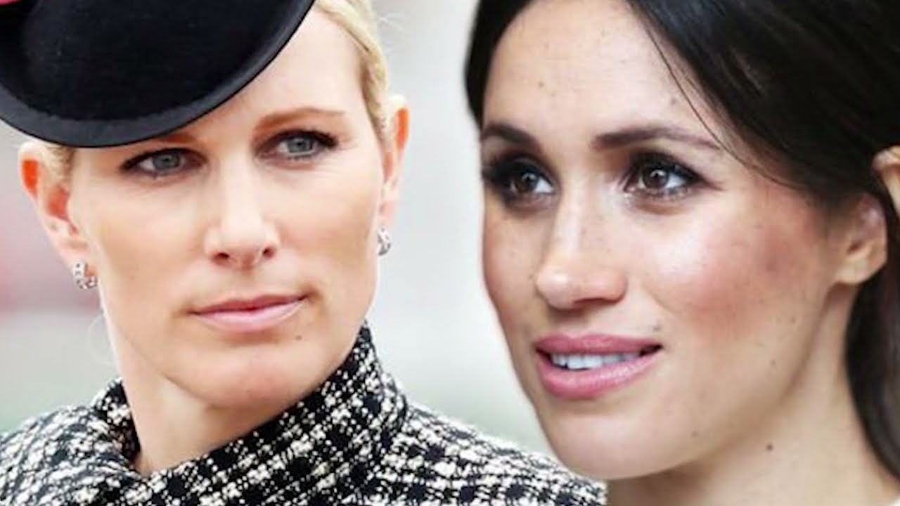 Download ANGRY ZARA TINDALL FIGHTS BACK MEGHAN: LEAVE MY MUM ALONE!