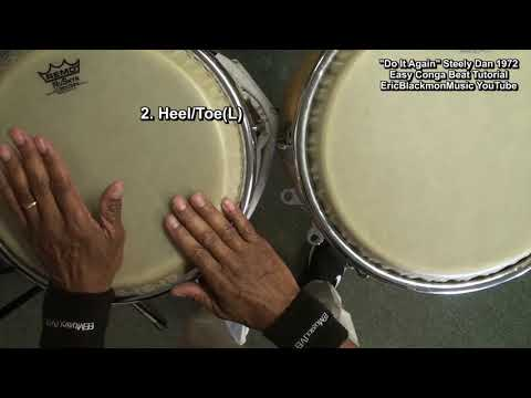 Easy Congas Lesson DO IT AGAIN Steely Dan🥁