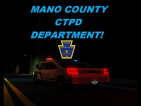 ROBLOX | Mano County CTPD #2 | MANY SHOOTOUTS!!! - YouTube