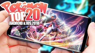 Top 20 New Pokemon Games June 2018 - Android IOS Gameplay