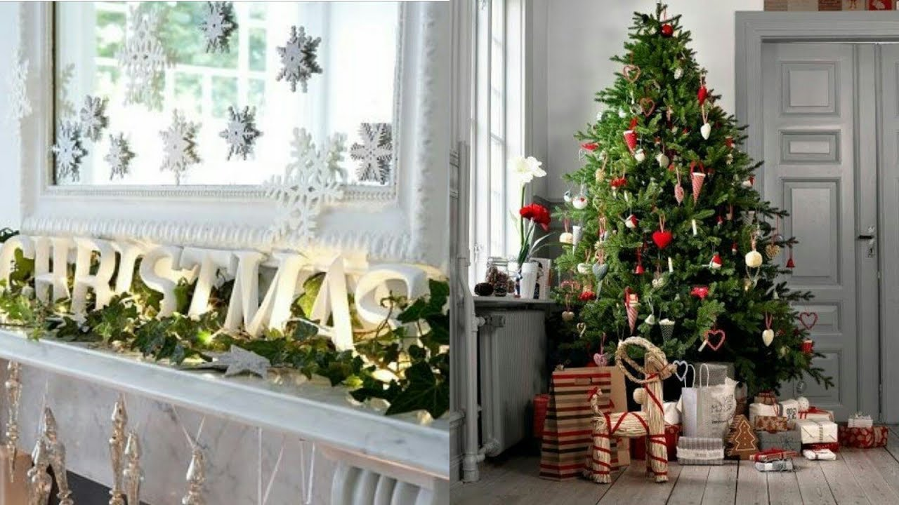 Decoración De Navidad Y Año Nuevo 2018 2019 Tendencias E Ideas En árboles Y Adornos Navideños