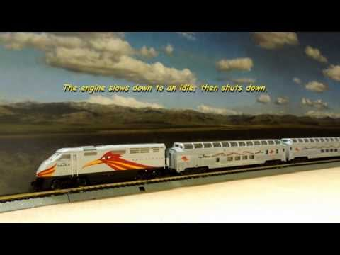 NEW MEXICO RAIL RUNNER - (PART 1 - DCC OPERATION)_HD