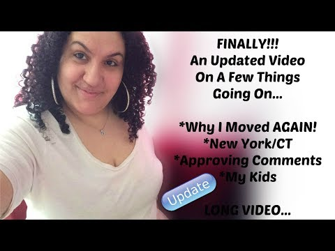 Finally, An Updated Video: Why I Moved Again   Depression   My Kids   Bad Landlady   Etc.