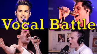 "Who sang ""Bohemian Rhapsody"" the best? (Adam Lambert, Brendon Urie, Freddie Mercury & Marc Martel)"