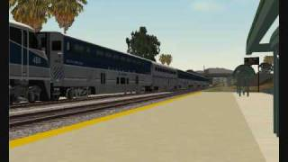 MSTS Amtrak California Railfanning | Pacific Surfliner Route