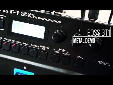 Boss GT-1 - Metal Demo