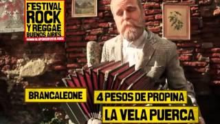 Festival R&R Bs.As. - DIA 2 :: LA VELA - 4 PESOS - LAS MANOS