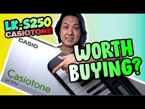 Casio LK-S250 Casiotone Review & Demo