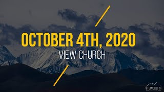 View Church Live Stream - October 4th