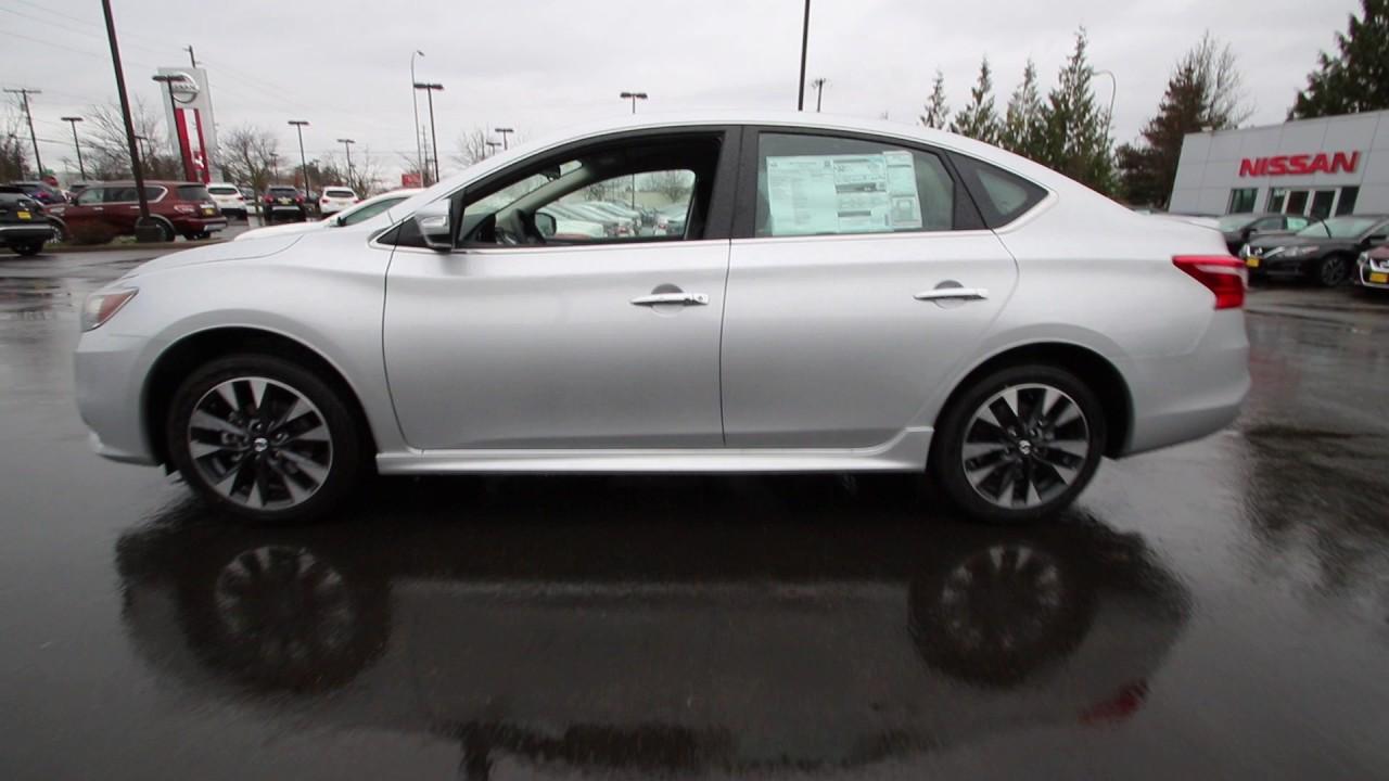 2017 Nissan Sentra Sr Brilliant Silver Hy223838 Kent Tacoma