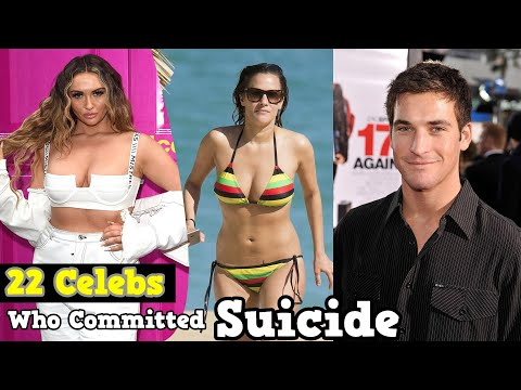 22 Actors Who Died due to Suicide || Celebrities Who Committed Suicide