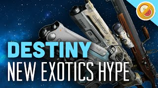 Destiny New Exotics Hype - The Dream Team (Funny Gaming Moments)