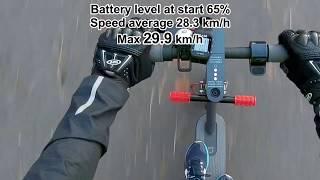 Xiaomi M365 Top Speed 32.5km/h (20.2mph) with custom firmware