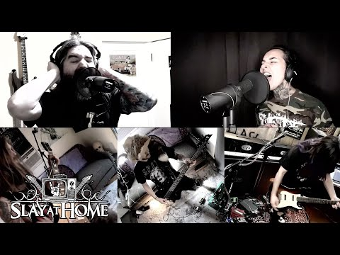 SUICIDE SILENCE (Alice In Chains w. Tatiana of Jinjer) Full Set At Slay At Home | Metal Injection