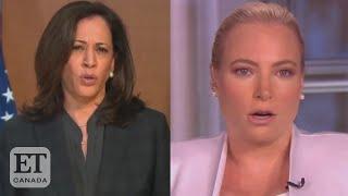 Meghan McCain, Kamala Harris Debate 'Defund The Police'